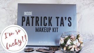 I was a lucky winner of a Patrick Ta/Maybelline Makeup Box