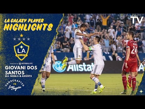 HIGHLIGHTS: ALL of Giovani dos Santos' GOALS and ASSISTS in 2015