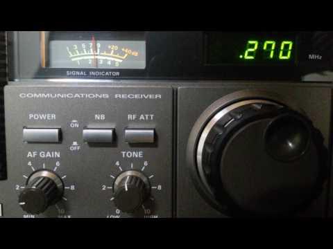 LW DX .270Khz Radio Zumal from the Czech Republic