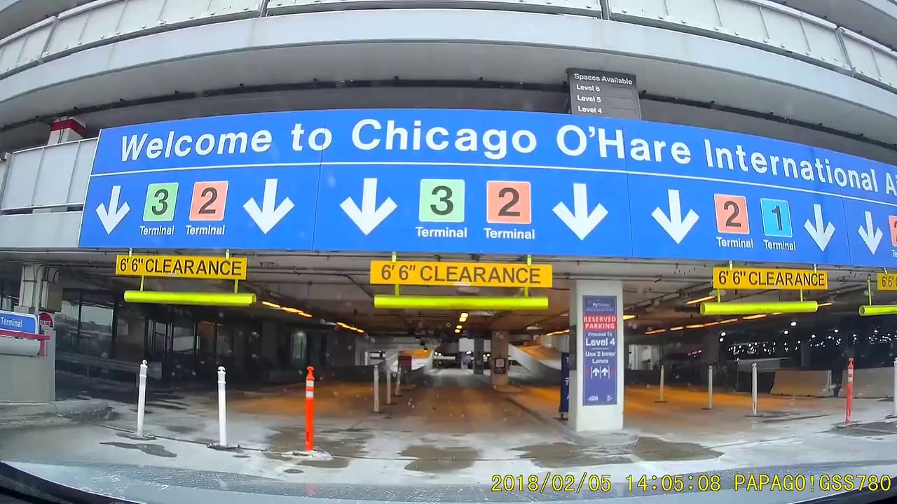 O Hare Parking >> Chicago O Hare International Airport Parking