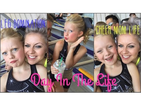 Cheer Mom Life  | Leg Day Domination