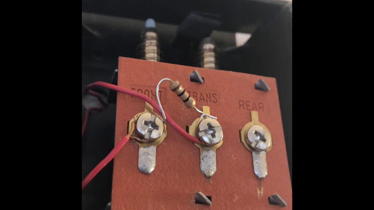 Resistor for Ring Video Doorbell Pro or Nest Hello