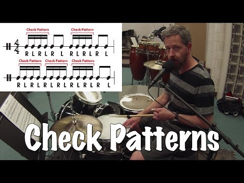 The Most Important Drum Exercise - Check Patterns