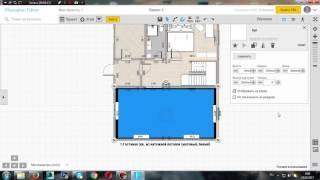 Урок 9. Cоздаем чертеж потолка в программе Planoplan