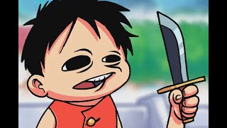 Luffy wants to be a Pirate! (Andobiki's One Piece Collab)