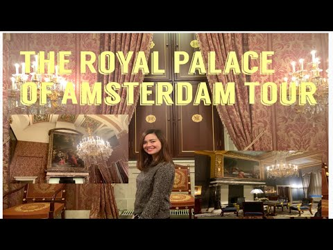 THE ROYAL PALACE OF AMSTERDAM TOUR | Dutch Royal House