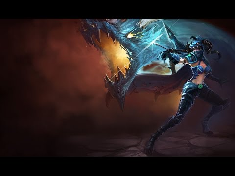 Hanker00 - Dragonslayer Vayne Adc Full Game Music! - LoL på