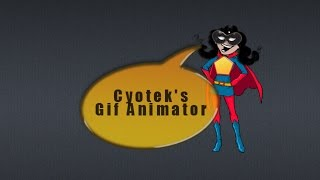 Cyotek's GIF animator