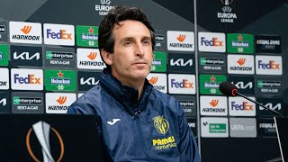 Rueda de prensa de Unai Emery - Ilusión por la Europa League