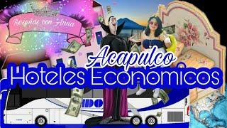 Hoteles Baratos, económicos en extremo (playa caleta) Acapulco / Reseñas con Anna