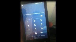 como quitar contraseña de protección de  privacidad a un celular