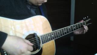 Yesterday Beatles guitar solo arranged by CK