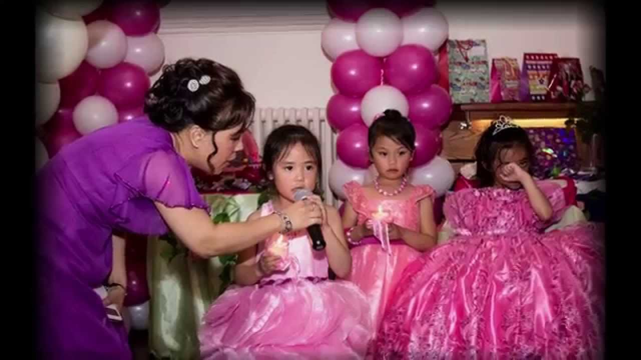 Barbie girl kirsten 7th birthday youtube for Decoration ideas 7th birthday party