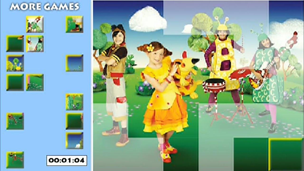 El jardin de clarilu rompecabezas youtube for Aeiou el jardin de clarilu