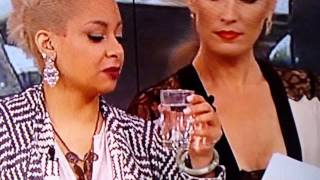 Raven Symone lets co-host unknowingly drink spit