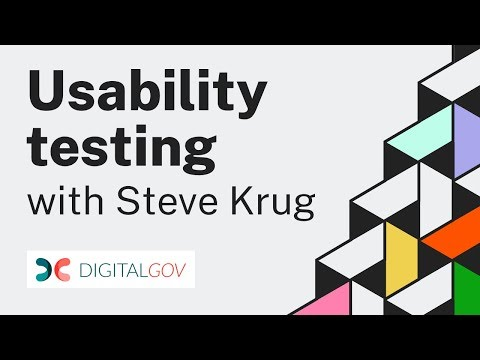 Usability Testing with Steve Krug