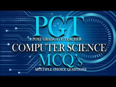 DSSSB KVS PGT TGT Computer Science DBMS Best MCQ's Q01 to 50