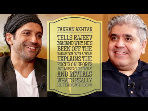 Farhan Akhtar interview with Rajeev Masand I The Sky is Pink | Toofan | Don 3