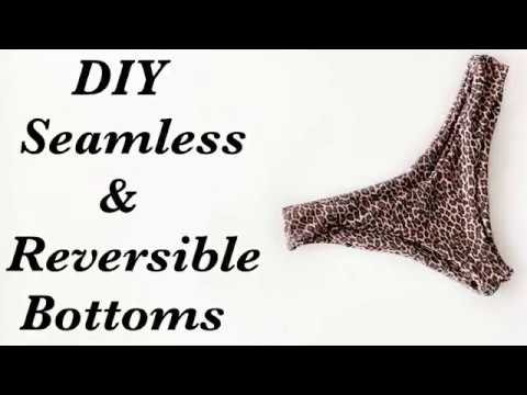 DIY Seamless & Reversible Bikini Buttons| Swimming Wear 2019#DIYbikini#HowtoDIYsummer#