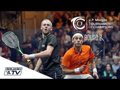 Squash: Tournament of Champions 2018 - Men\'s Rd 2 Roundup [Pt.2]