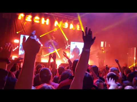 Tech N9ne Live Planet Tour 4/17/18 at Cedar Rapids Ice Arena