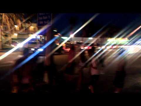 Fort Myers Beach Street Fight Spring Break 2011