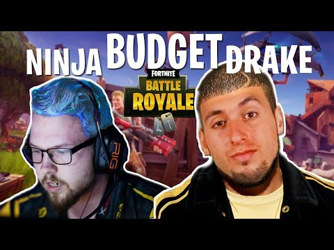 Budget Drake and Ninja Play Fortnite(HILARIOUS)