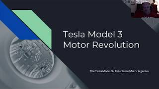Tesla Model 3 Motor explained