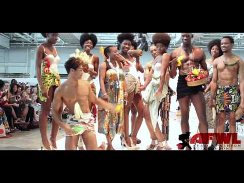 Africa Fashion Week London 2014 Catwalk Video