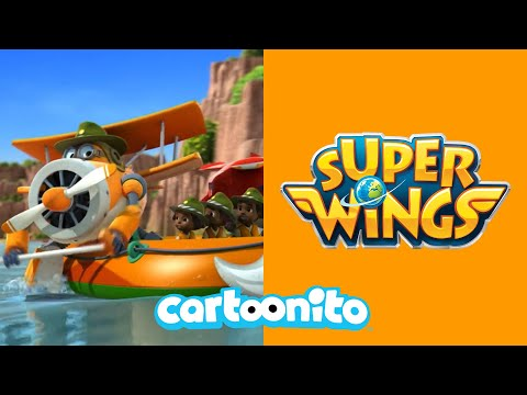 Super Wings | Whirlpool Danger! | Cartoonito