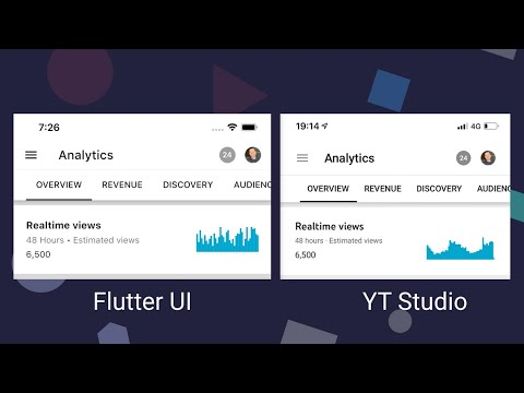 UI Challenge: YouTube Sparkline Chart Using CustomPainter