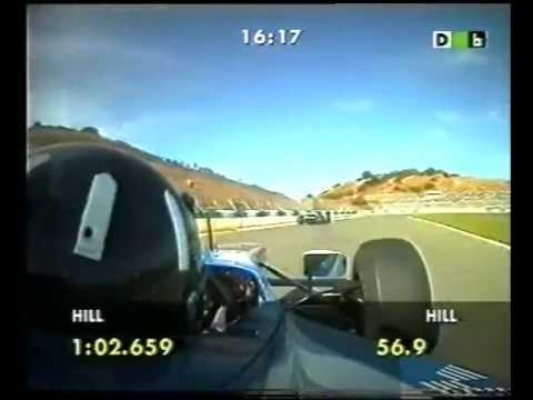 Damon Hill Onboard Jerez 1997