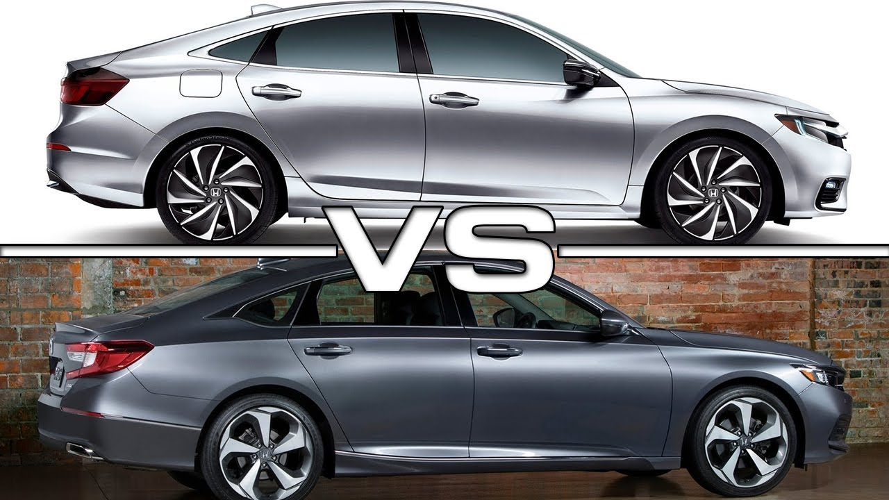 2019 Honda Insight Vs 2018 Accord
