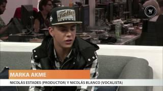 Entrevista a Nicolás Blanco y Nicolás Estades de Marka Akme en El Observador TV thumbnail