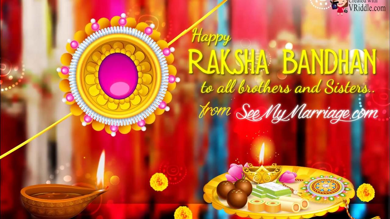 Happy Rakhi North Indian Style Raksha Bandhanrakhi Greeting Videos