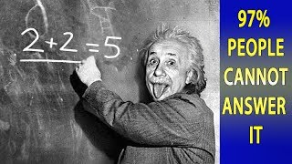 3 Simple Questions Only a Genius Can Answer - Intelligence Test