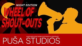 Promote Your YouTube Channel - Let's spin the wheel of shoutouts on Puša Studios!