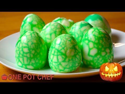 Halloween Alien Eggs | One Pot Chef