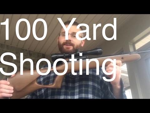 Break Barrel Air Rifle 100 Yard Accuracy