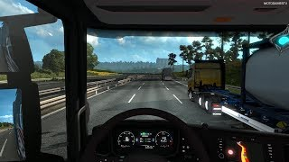 Euro Truck Simulator 2 - Driving from Mannheim to Hannover (One Truck Family Event) [4K 60FPS]