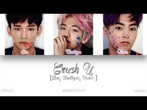 [HAN ROM ENG] EXO-CBX (첸백시) - Crush U (Color Coded Lyrics)