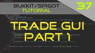 Minecraft Bukkit/Spigot Plugin Tutorial #37: Trade GUI (part 1)