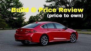 2018 Buick Regal GS AWD Performance Luxury Sedan - Build & Price Review