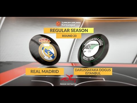 Highlights: Real Madrid-Darussafaka Dogus Istanbul