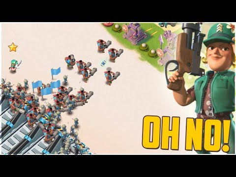 How Could This Happen?!? Boom Beach Heavy and Riflemen Strategy!