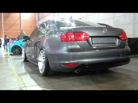 vw jetta messer air low expo tuning torino 2015 youtube. Black Bedroom Furniture Sets. Home Design Ideas