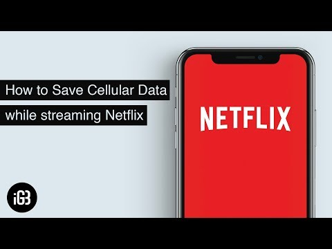 How much data does netflix movie use on iphone