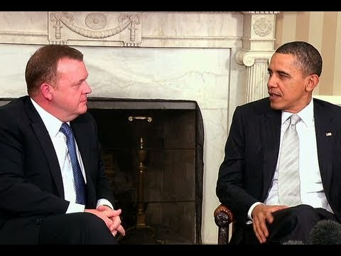 President Obama Meets with Danish Prime Minister Rasmussen