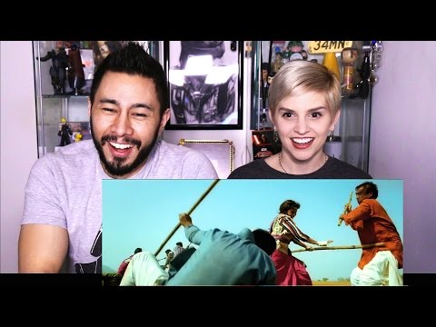 GULAAB GANG trailer reaction review by Jaby & Elizabeth!