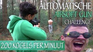 Met Airsoft gun op blote lichaam schieten - Prankster Duitsland #2